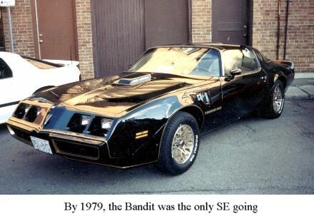 Bandit Trans Am History