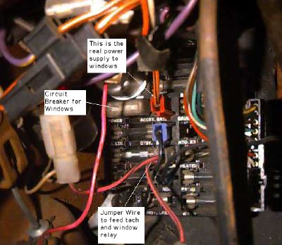 77fuse power windoze page 1978 trans am wiring harness at gsmportal.co
